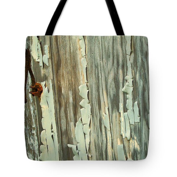 The Peeling Wall Tote Bag