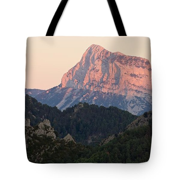 Tote Bag featuring the photograph The Pena Montanesa by Stephen Taylor
