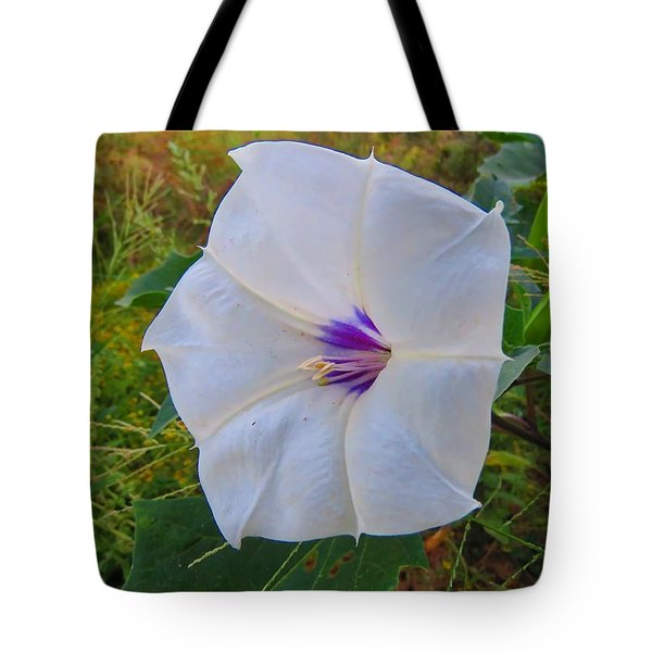 The Perfect Flower - Sacred Datura Tote Bag
