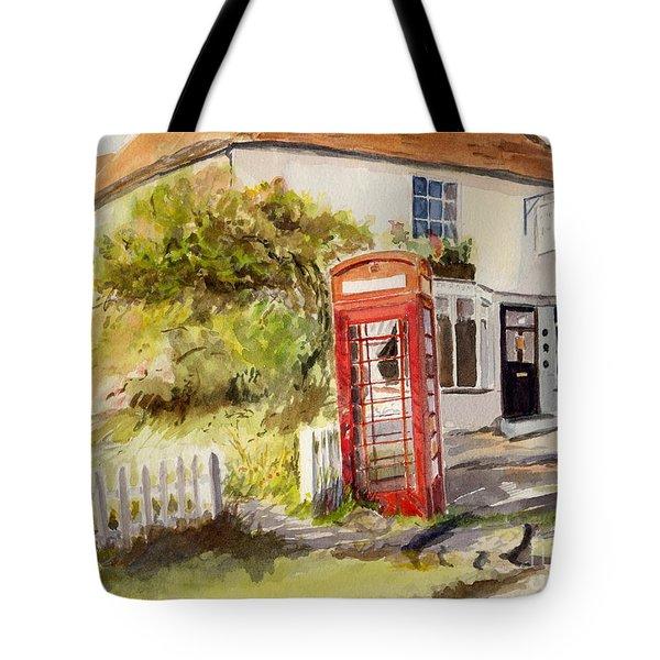 The Phone Box, Appledore Tote Bag
