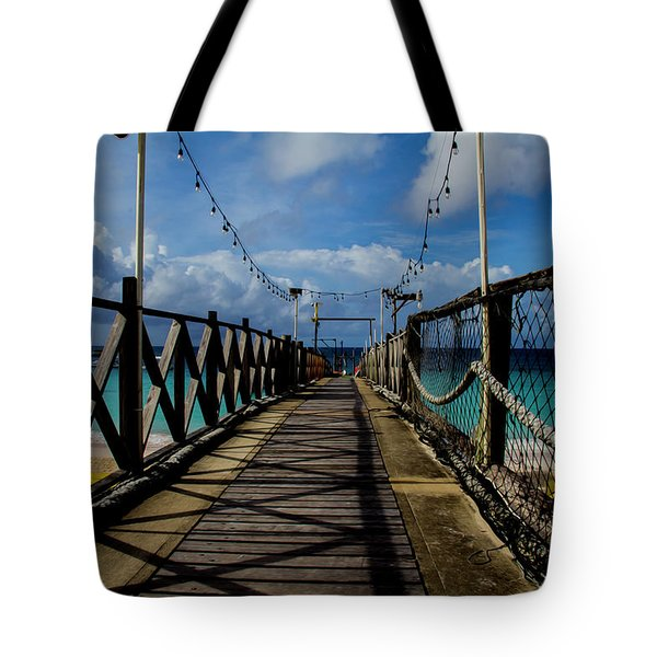 The Pier #3 Tote Bag