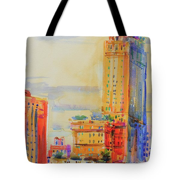 The Pierre, New York Tote Bag