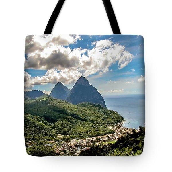 The Piton Twins Tote Bag