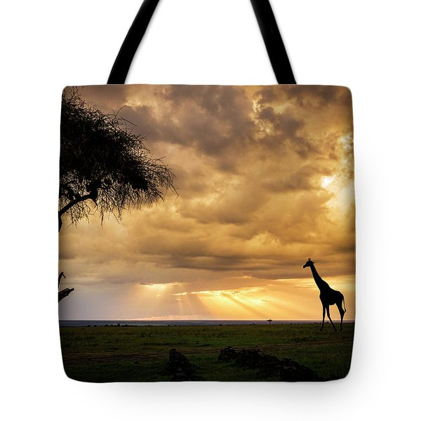 The Plains Of Africa Tote Bag