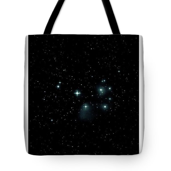 Tote Bag featuring the photograph The Pleiades I by Lon Dittrick