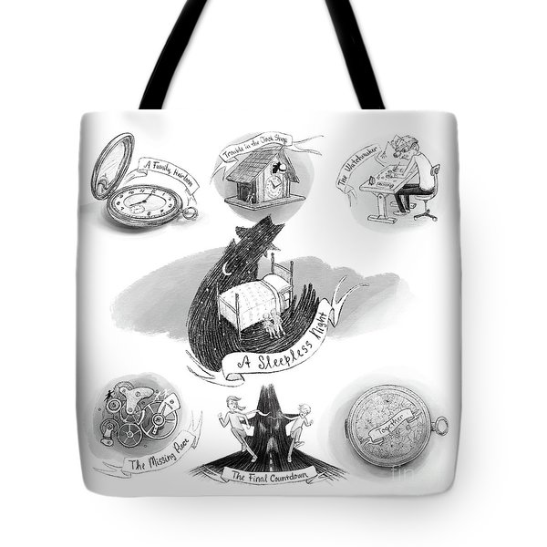 The Pocket Watch Tote Bag