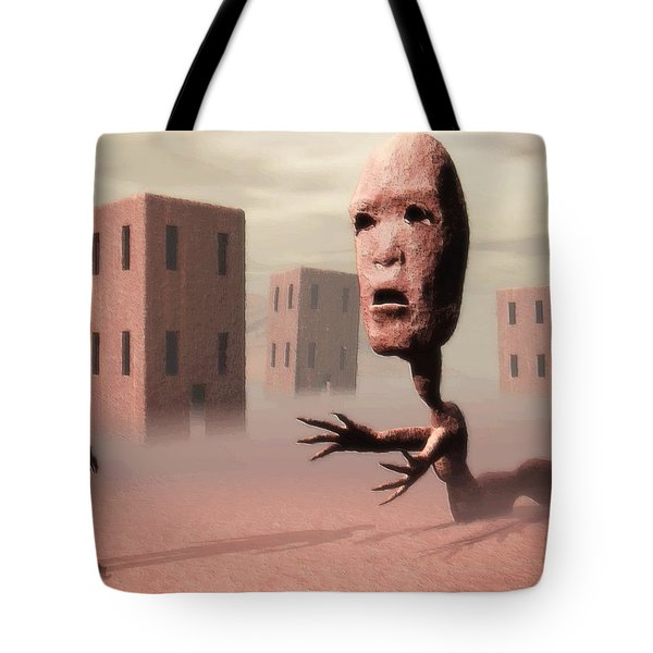 The Politician And I Tote Bag