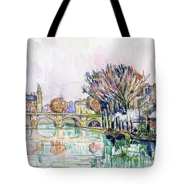 The Pont Neuf, Paris - Digital Remastered Edition Tote Bag