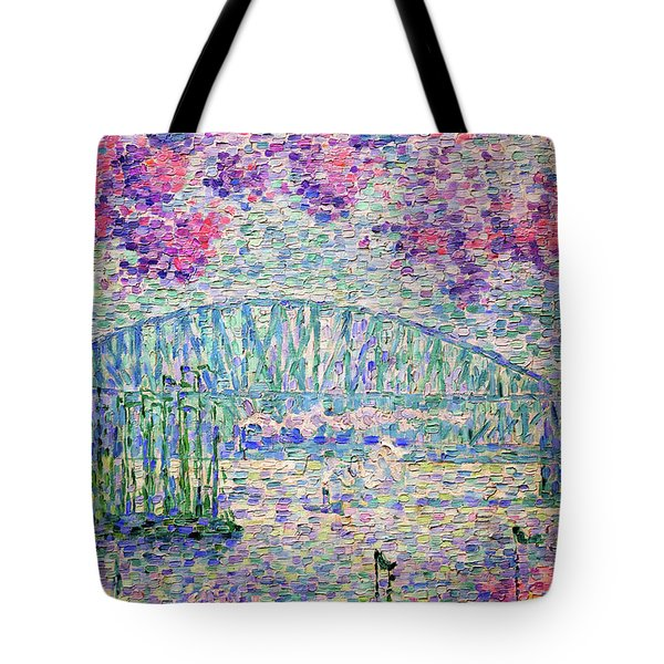 The Port Of Rotterdam, 1907 - Digital Remastered Edition Tote Bag