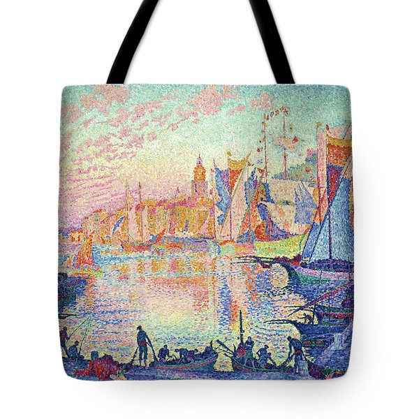 The Port Of Saint-tropez - Digital Remastered Edition Tote Bag