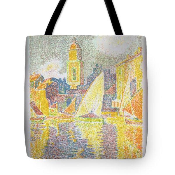 The Port, Saint-tropez - Digital Remastered Edition Tote Bag