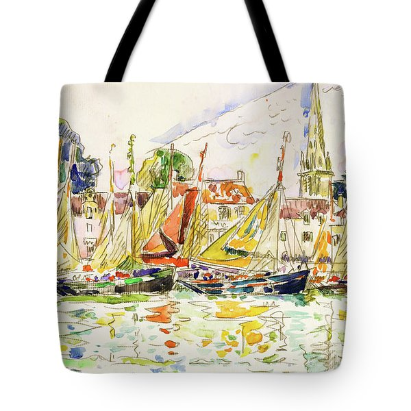 The Pouliguen, Fishing Boats - Digital Remastered Edition Tote Bag