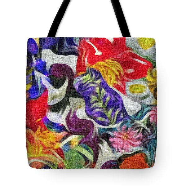 The Power Of Flowers Tote Bag