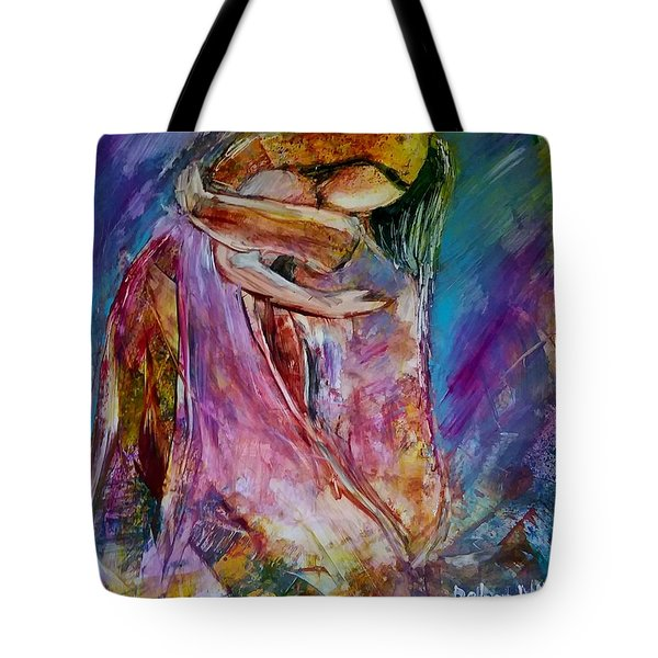 Tote Bag featuring the painting The Prodigal by Deborah Nell