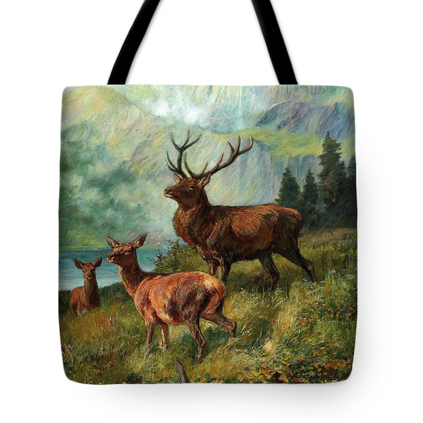 The Proud Stag Tote Bag