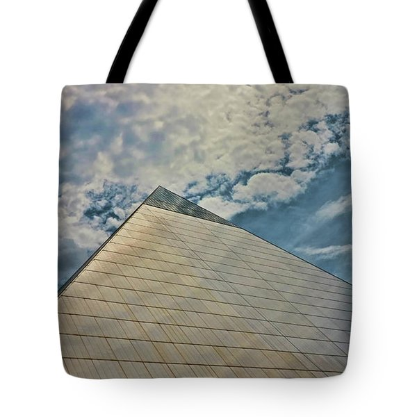 The Pyramid - Memphis Tote Bag
