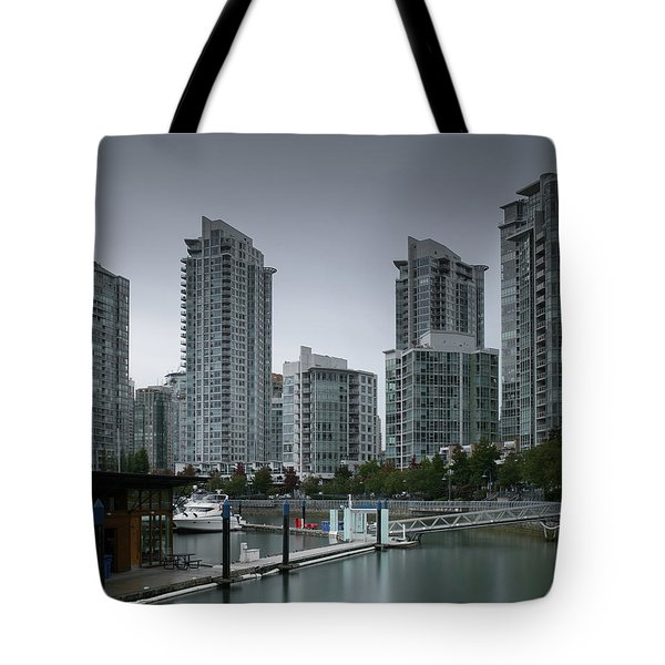 The Quayside Marina - Yaletown Apartments Vancouver Tote Bag
