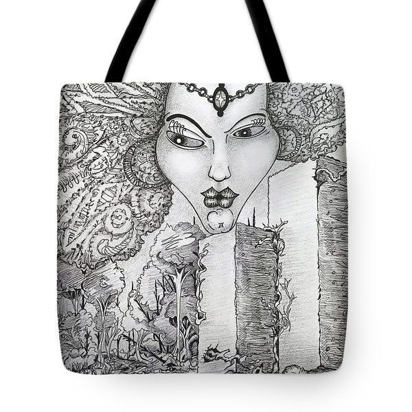 The Queen Of Oz Tote Bag