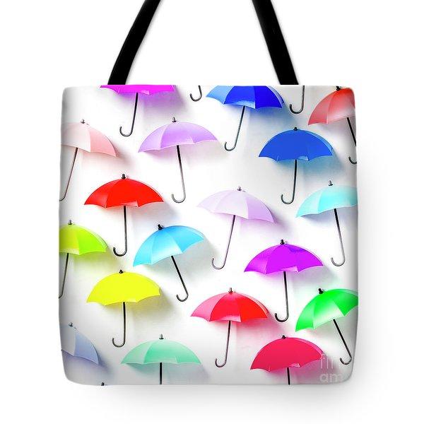 The Rain Collection Tote Bag