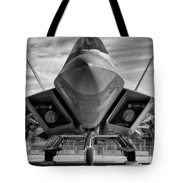 The Raptor Waits Tote Bag