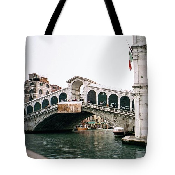 The Rialto Bridge  Tote Bag