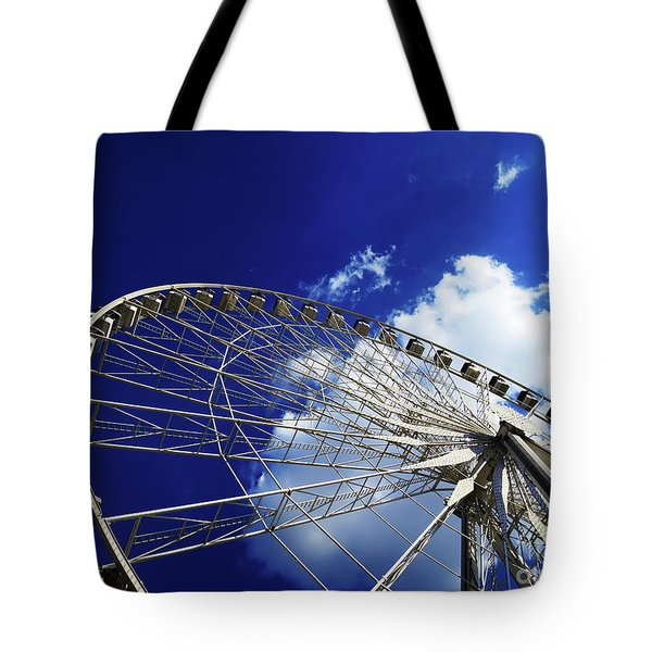 The Ride To Acrophobia Tote Bag