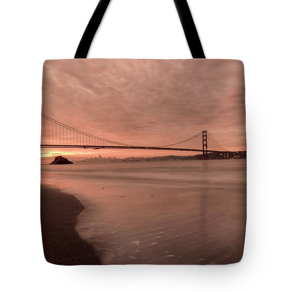 Tote Bag featuring the photograph The Rising- by JD Mims