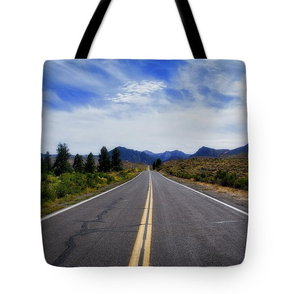 The Road Best Traveled Tote Bag