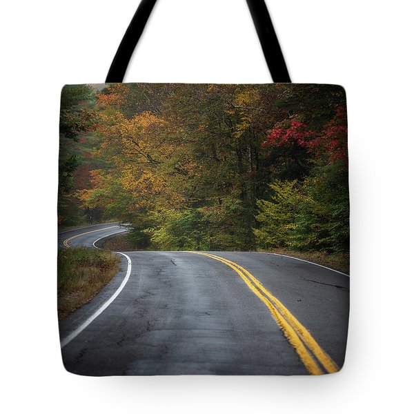 The Road To Friends Lake Tote Bag
