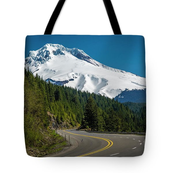 The Road To Mt. Hood Tote Bag