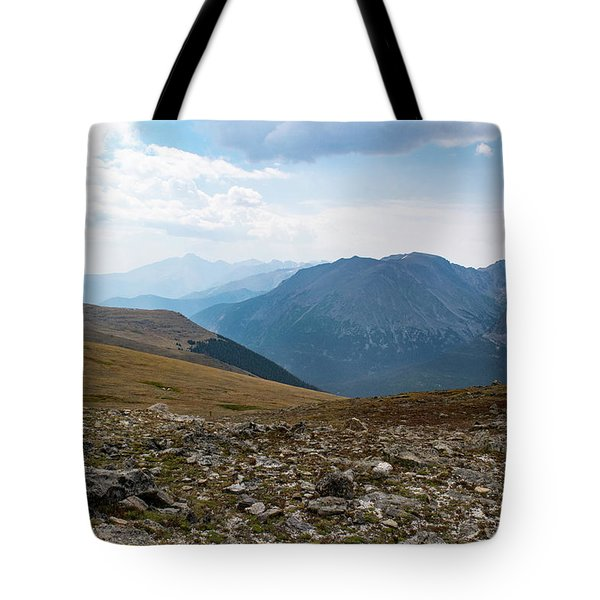 The Rocky Arctic Tote Bag