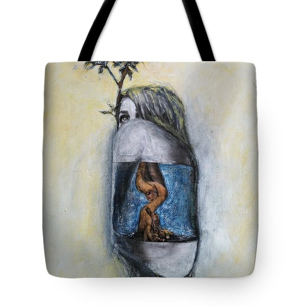 The Root Of Stranger Things Tote Bag