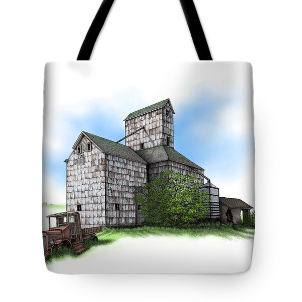 The Ross Elevator Summer Tote Bag