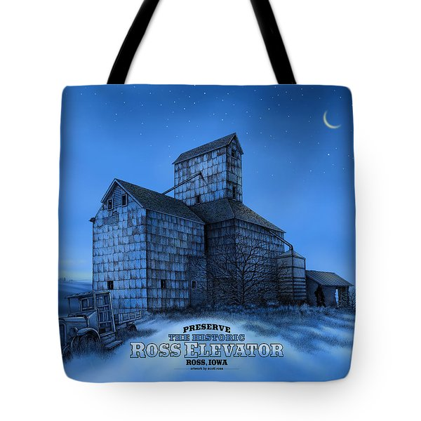 The Ross Elevator Version 3 Tote Bag