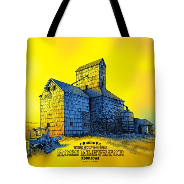 The Ross Elevator Version 4 Tote Bag