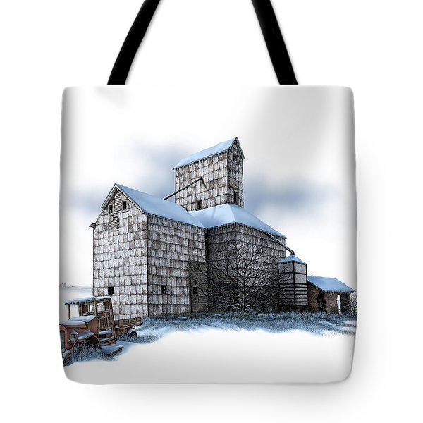 The Ross Elevator Winter Tote Bag