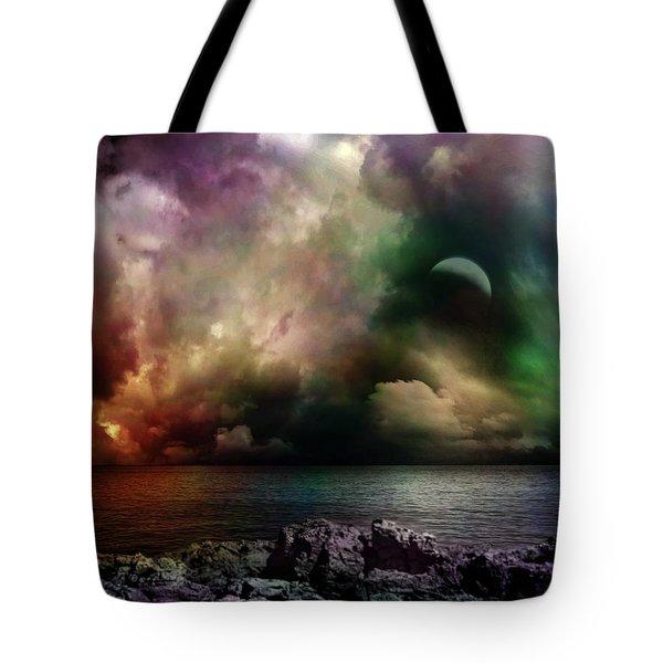 The Sacred Storm Tote Bag