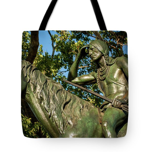 The Scout Statue II Tote Bag