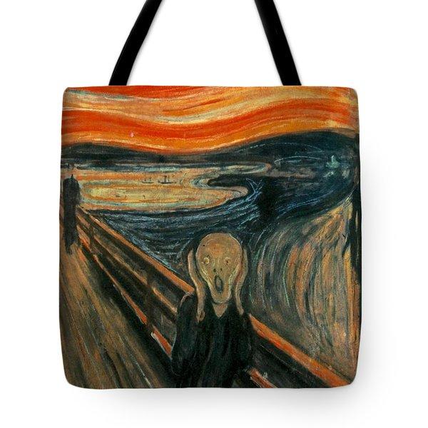 The Scream  Tote Bag