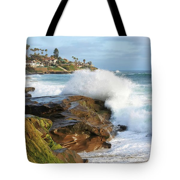 The Sea Was Angry That Day My Friends Tote Bag