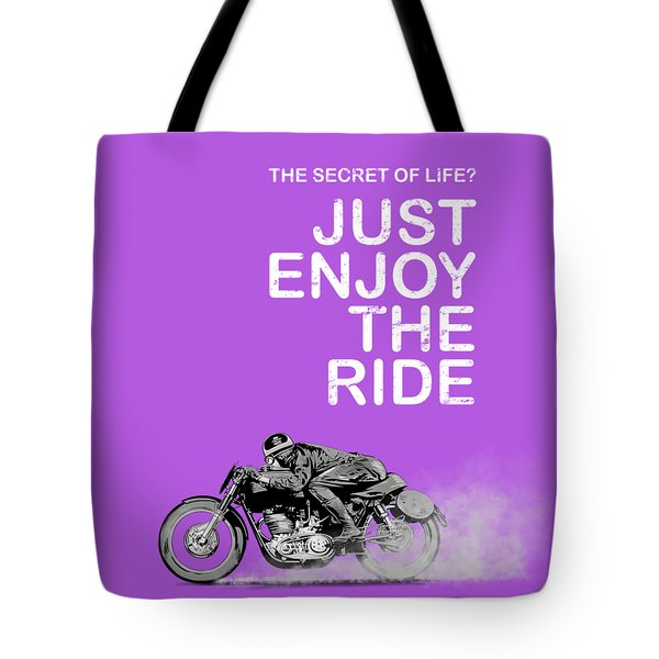 The Secret Of Life Tote Bag