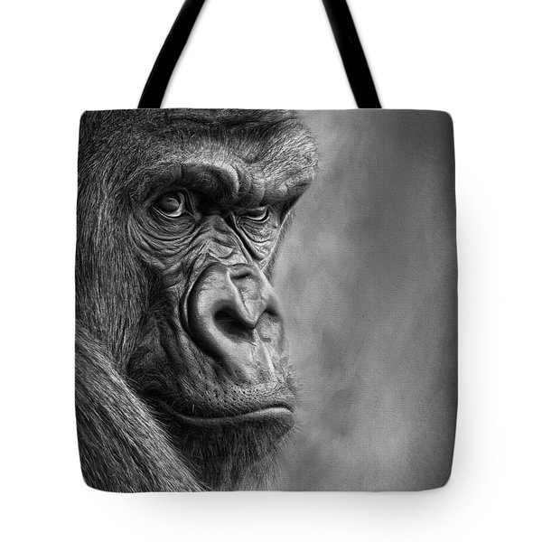 The Serious One Tote Bag
