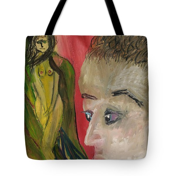 The Sexy Man With The Watery Blue Eyes Tote Bag