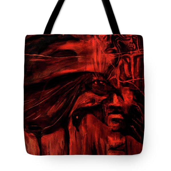 The Shap Shifters Call Tote Bag