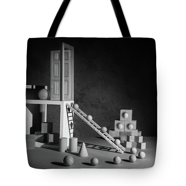 The Shape Of Things Tote Bag