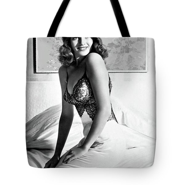 The Shawshank Redemption, Starring Tim Robbins, Morgan Freeman, Rita Hayworth Tote Bag