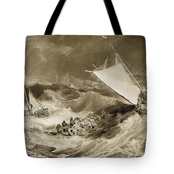 The Ship Wreck, 1807 Tote Bag