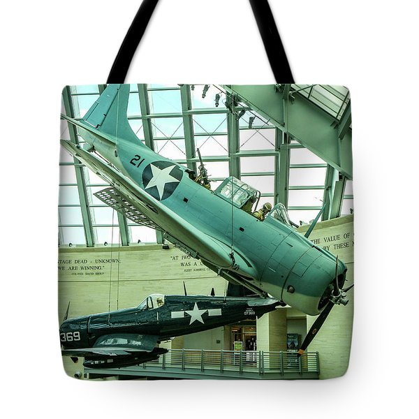 The Side View Of The Dauntless Tote Bag