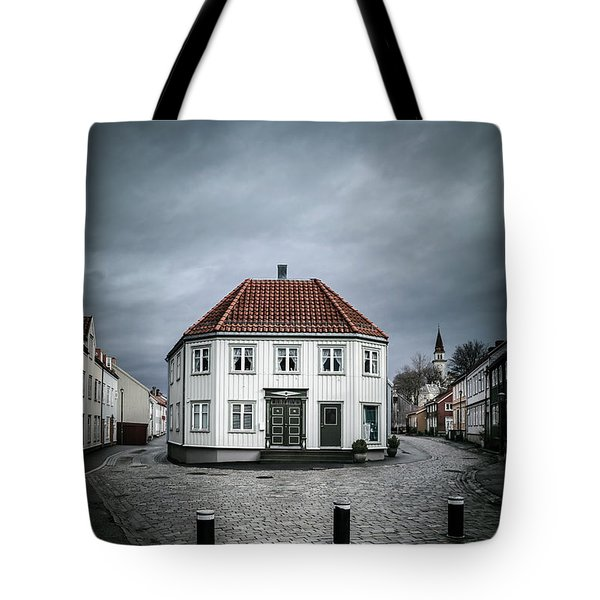 The Silent Divide Tote Bag