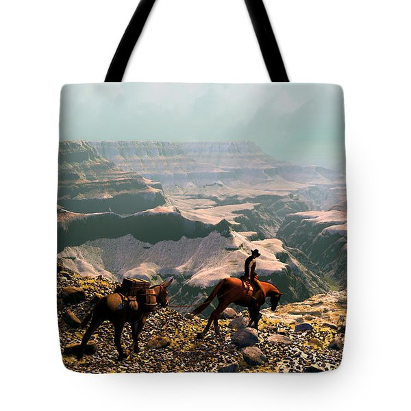The Sinking Earth Tote Bag